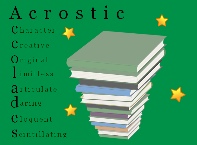 acrostic poem welcome | just b.CAUSE