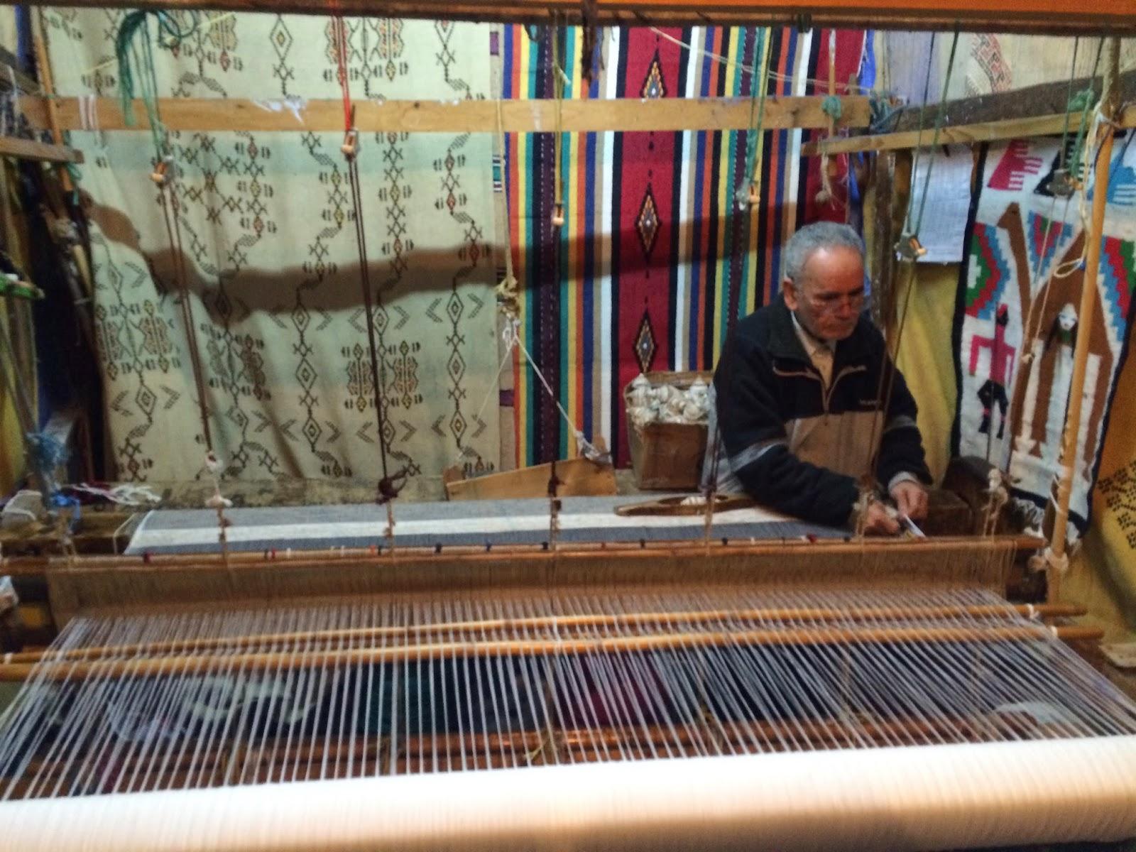 Chefchaouen/ Chaouen loom textiles