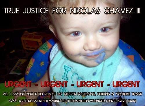 Justice For Nikolas Chavez III