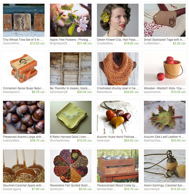 Harvest Themed Gift Guide on Etsy #harvest #autumn #fall #gifts
