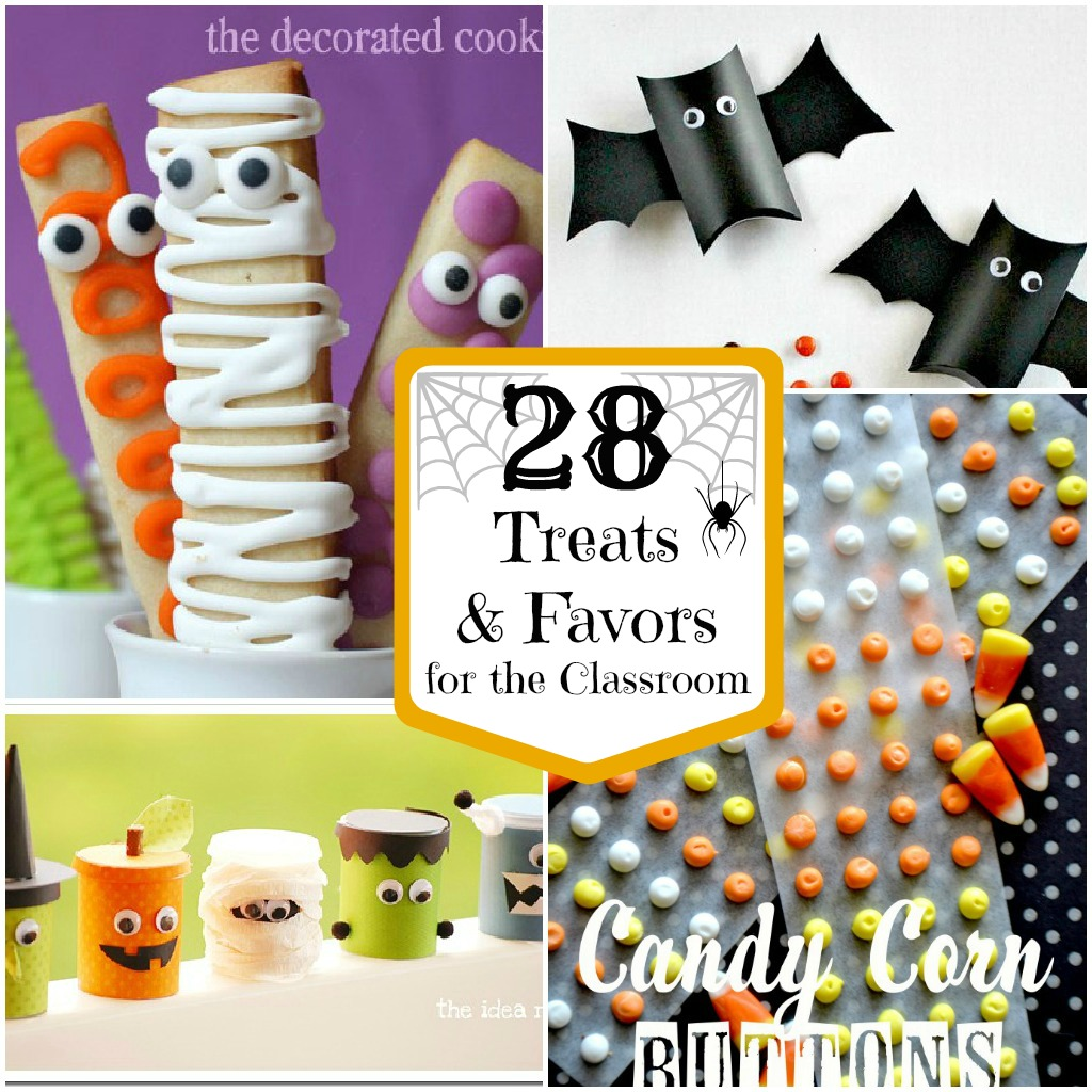 28 - Halloween Treats for the Classroom - The Crafted Sparrow