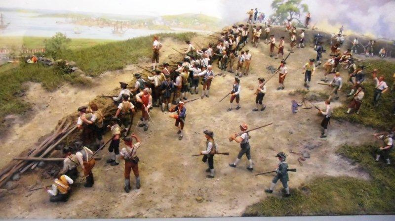a history of the battle of bunker hill This antiqued parchment pictorial of the battle of bunker hill includes little-known facts about this famous battle in boston, during the opening phase of the american revolution.