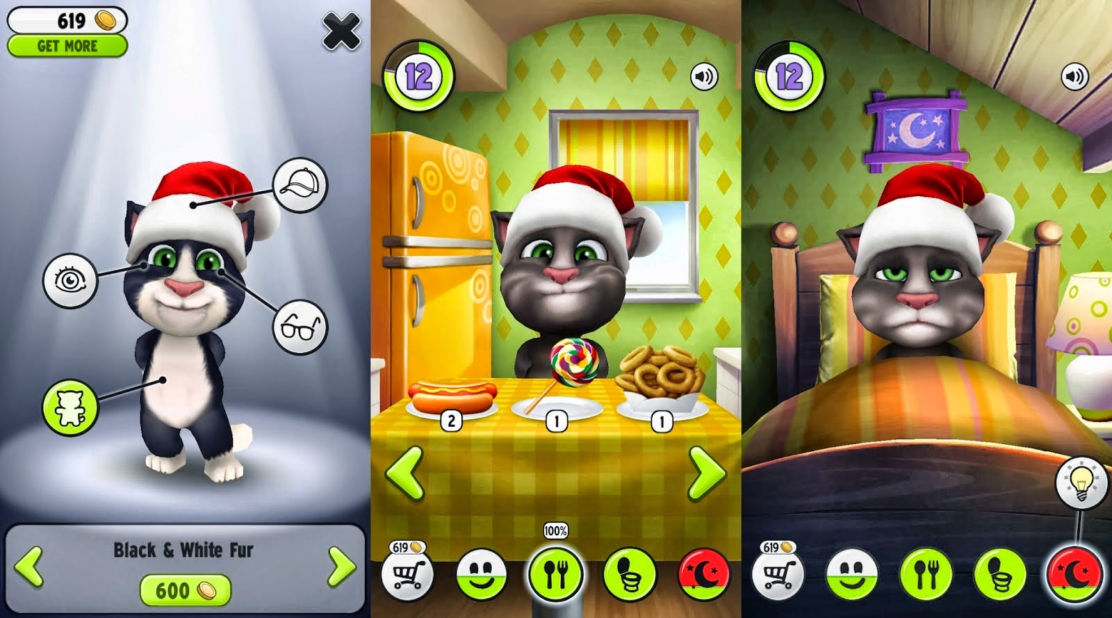 My Talking Tom Cat Mod Apk 1.7.3 (Unlimited Money) screenshot by www.kontes-seo-news.blogspot.com