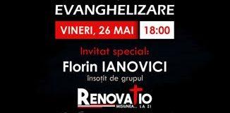 Florin Ianovici şi Grupul RENOVATIO la Biserica Bethel Ploieşti