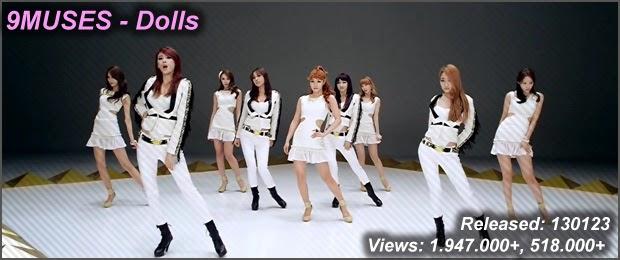 nine muses dolls