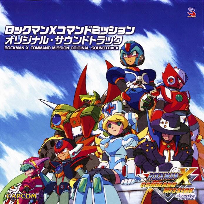 Rockman music rockman x command mission original soundtrack for Megaman 9 portada