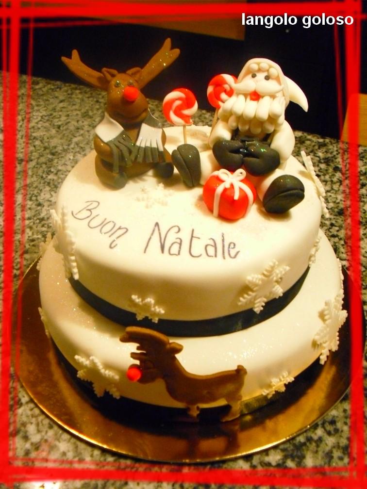 L 39 angolo goloso torte natalizie - Decorazioni torte natalizie ...