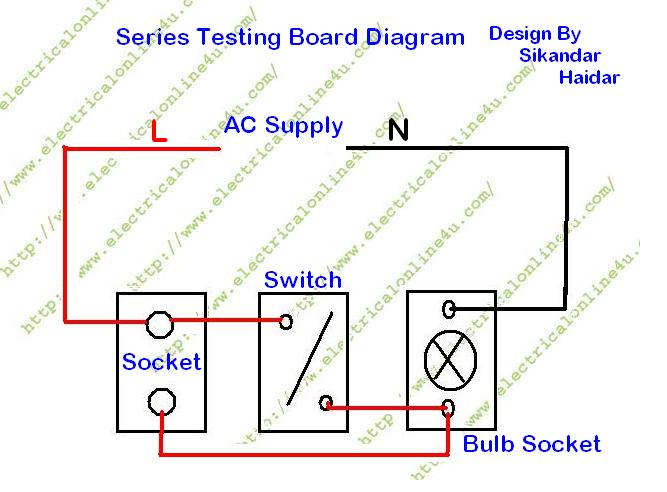 How To Make Series Testing Board For Low Resistance Electrical ...