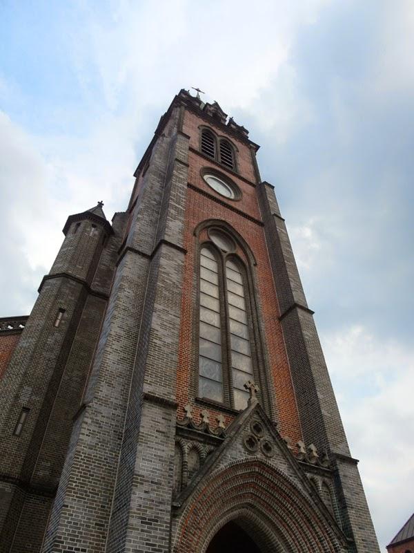 Ewha University Summer Studies Travel Seoul Myeongdong Cathedral shopping lunarrive blog singapore