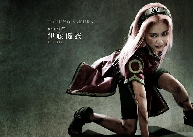 Yui Ito as Sakura Haruno
