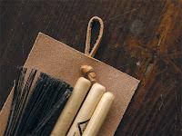 (1)ドラムスティックケース ヌメ革 小・フタなし キボリコキボリオ