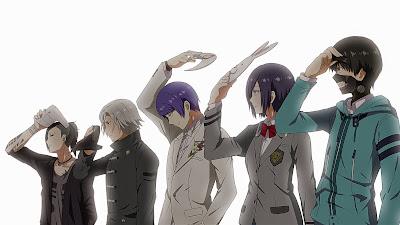 Anime Action Terbaik Tokyo Ghoul A