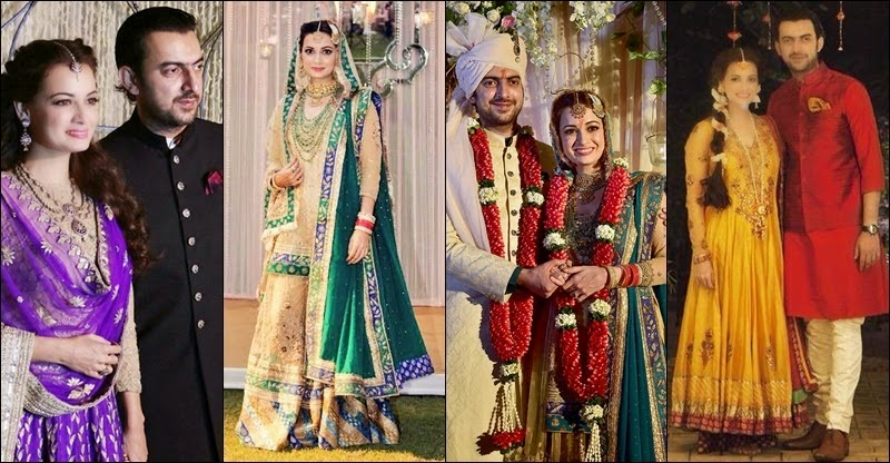 FAMOUS BOLLYWOOD ACTRESSES AND THEIR WEDDING DAY LOOK