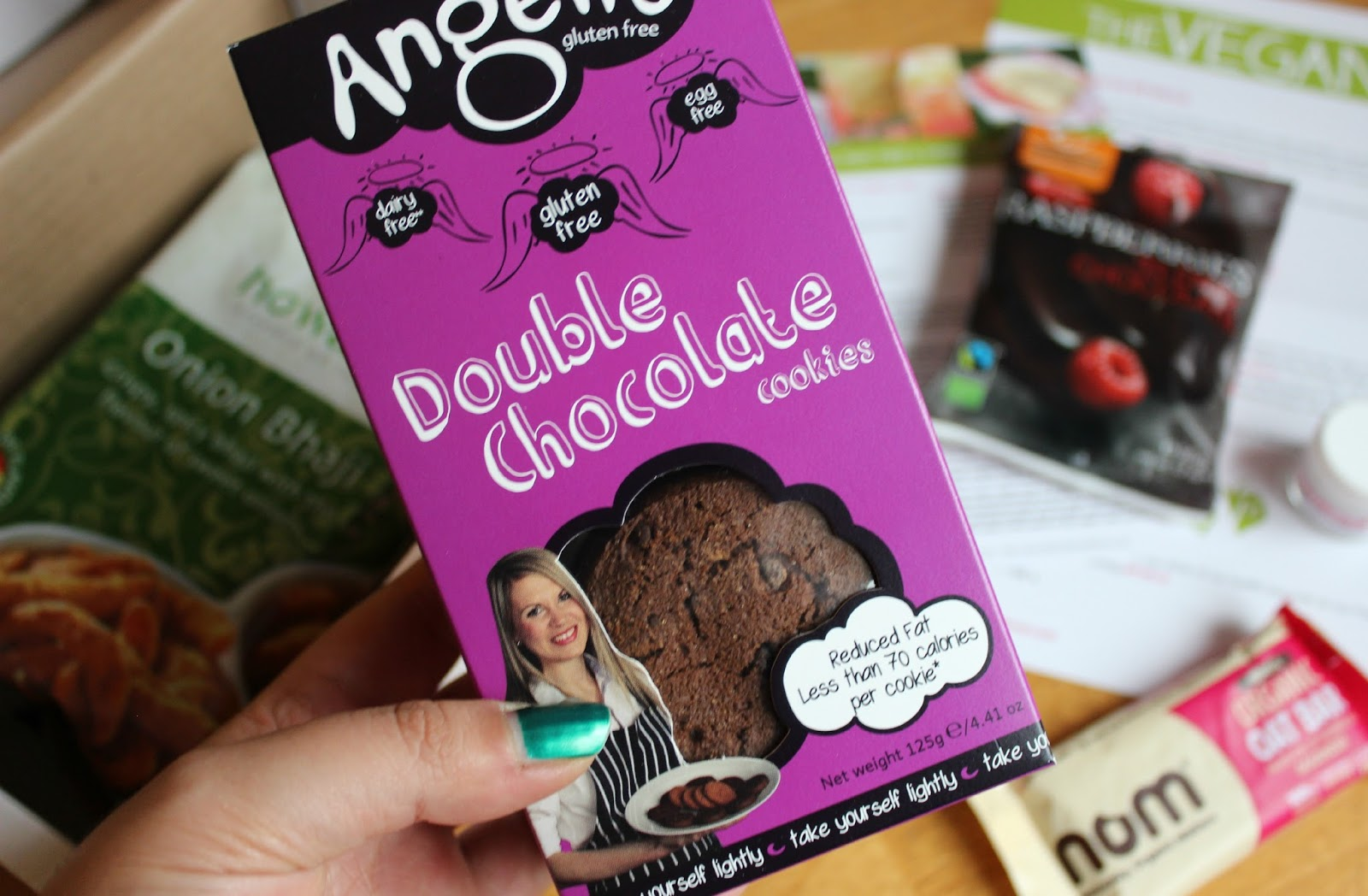 A picture of Angelic Gluten Free Double Chocolate Cookies