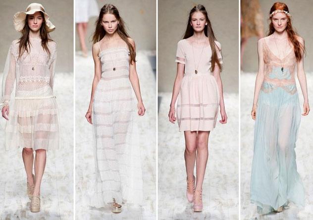 moda primavera verano 2013 estilo romantico modadictas