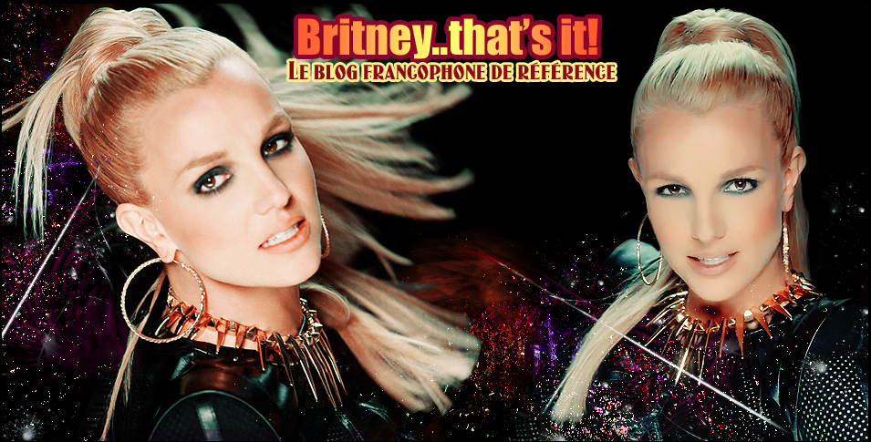 Bienvenue sur Britney..that's it !