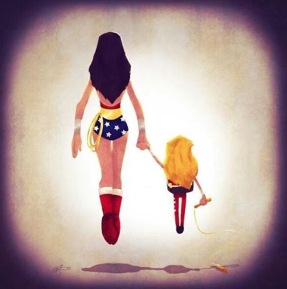 mom is my superhero