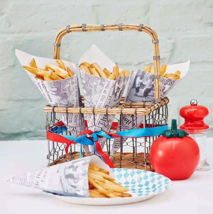 conos para patatas fritas