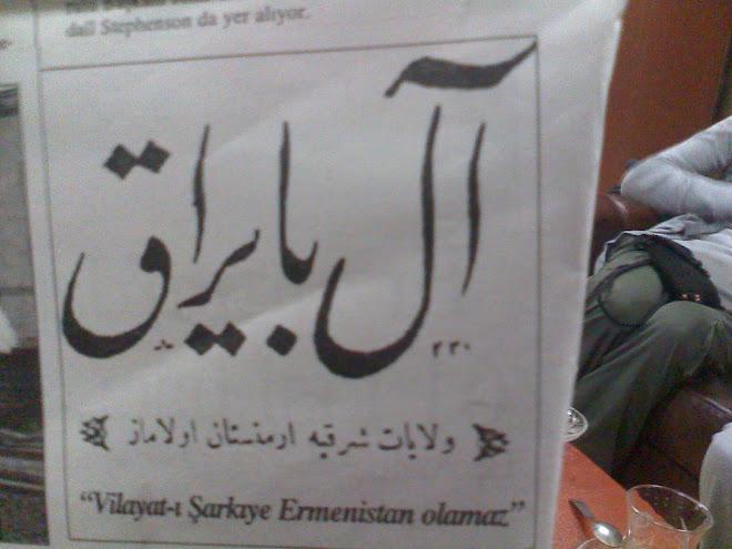 Milli Mücadele Dönemi gazetelerinden Albayrak'ın sloganı