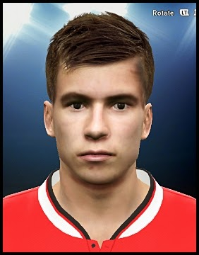 PES 2015 Paddy McNair Face by Mauro