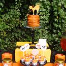 Sweet table sorcière pour Halloween