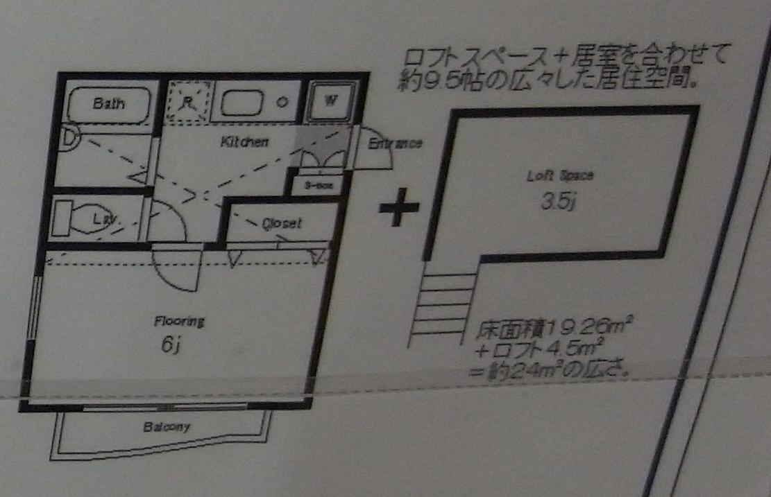 Studio Apartment Tokyophotography