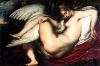Zeus y Leda: Los amores  del cisne