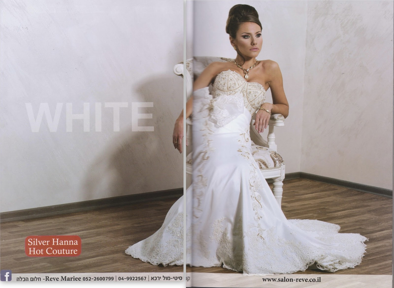 Silver Hanna Ad for silver hanna bridal