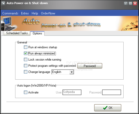 Shutdown shut automated free tasks scheduling allows download 7 to for auto