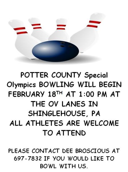 2-18 Special Olympics Bowling