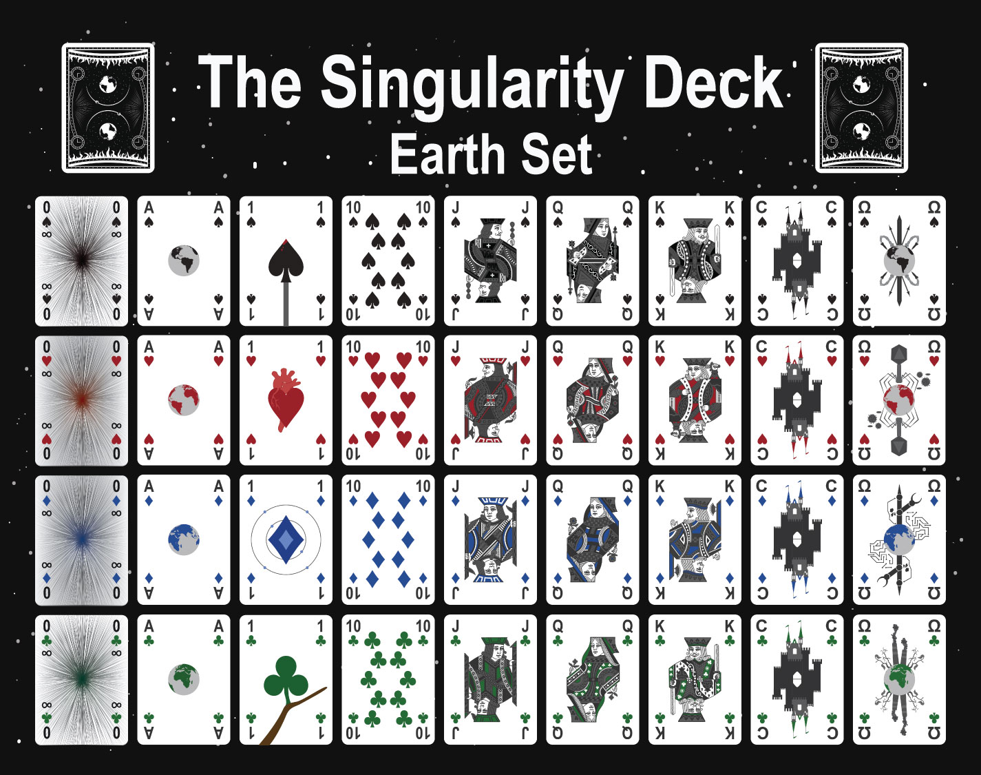 The Singularity Deck - Earth Set