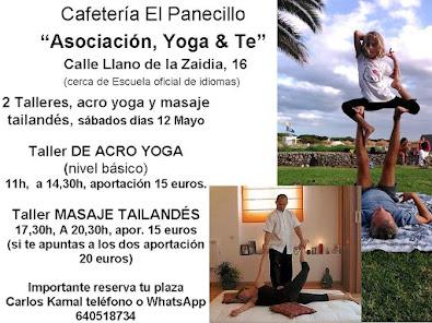 tallere acro yoga y masaje tailandes