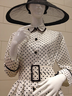 Dior 80s does 50s dress at David Jones 175th birthday