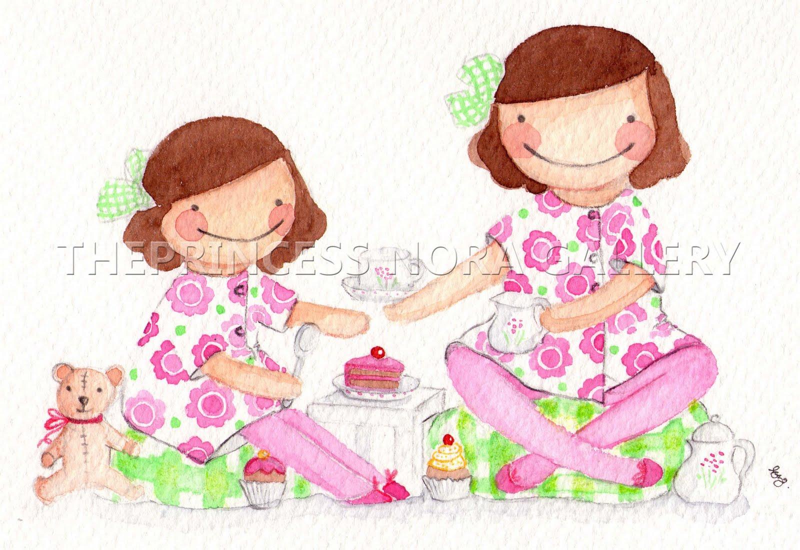 Hermanas jugando en la cama - 1 part 1