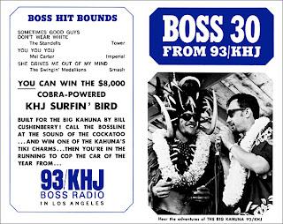 KHJ Boss 30 No. 52 - Frank Terry with Big Kahuna