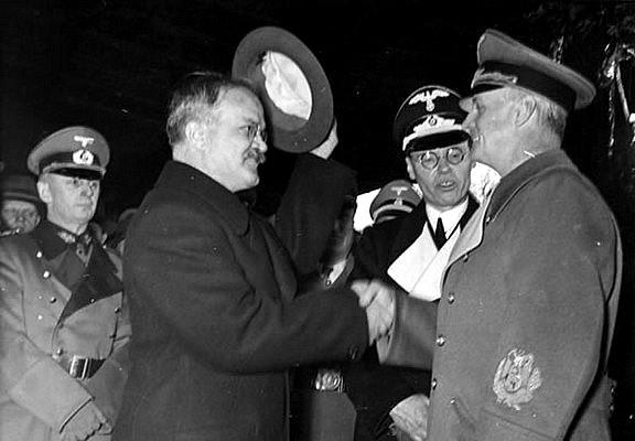 Визит Вячеслава Молотова в Германию 12. ноября 1940. г.