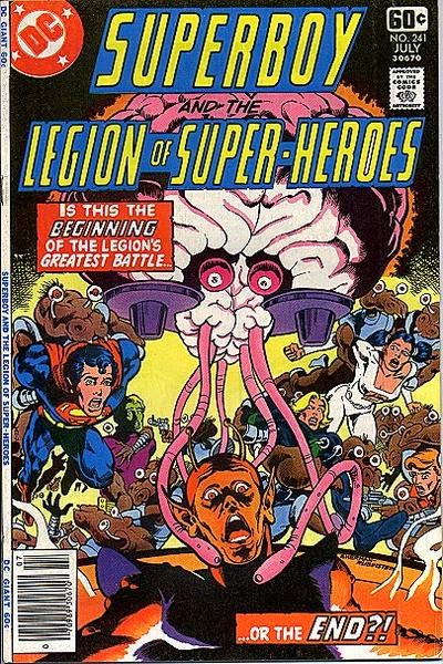 Superboy and the Legion of Super-Heroes #241
