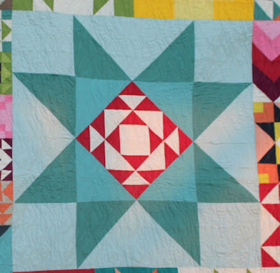 Moda Building Block quilt - large star block