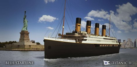 How It Will Look The Titanic II
