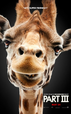 The Hangover Part III Portrait Character Movie Posters - He's Super Friendly - Giraffe