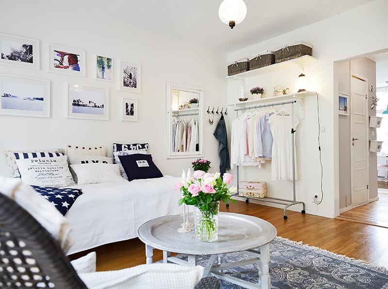 Mini piso con encanto decoraci n for Decoracion pisos acogedores