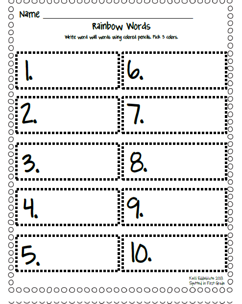 Worksheets Word Work Worksheets spotted in first grade word work menu freebie i did create some recording sheets to go with my im not too sure if really like them or they dont exactly meet quo