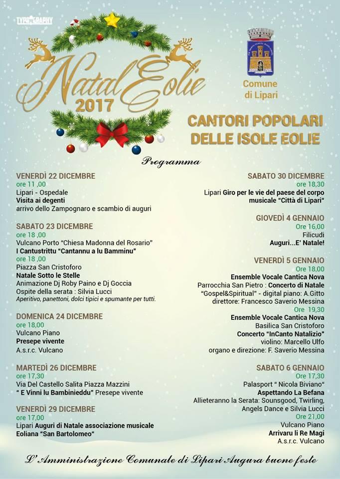 Natale Eolie 2017