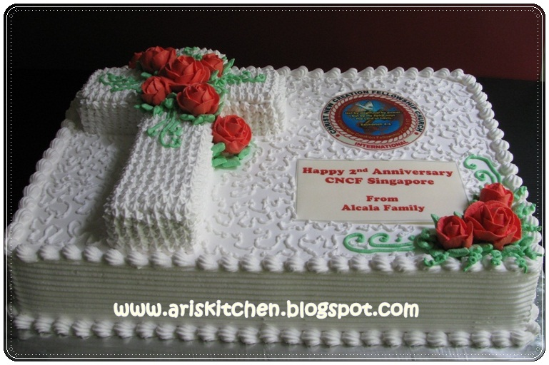 Cake Ideas For Church Anniversary : d Angel Cakes: 2nd Anniversary CNCF