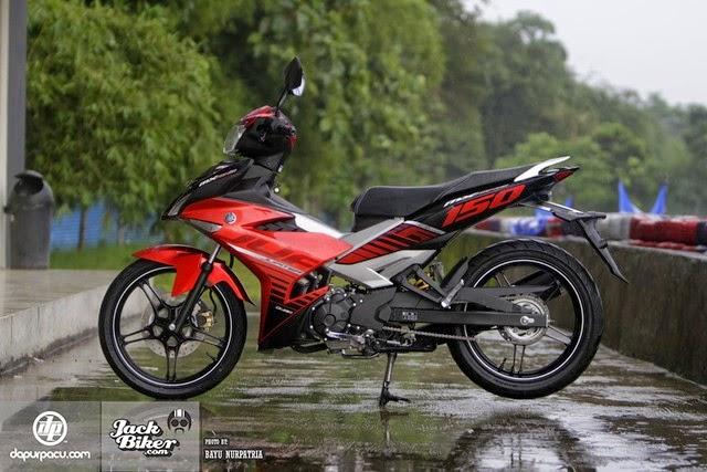 Hình ảnh Exciter 150  Indonesia phiên bản mới 2015