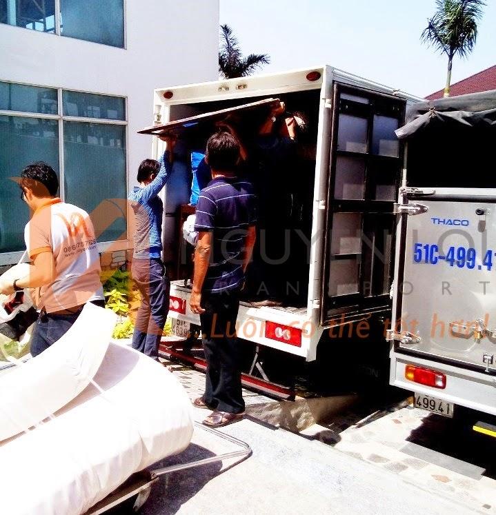 Thuê xe tải chuyển nhà giá rẻ, dịch vụ chuyển nhà TPHCM