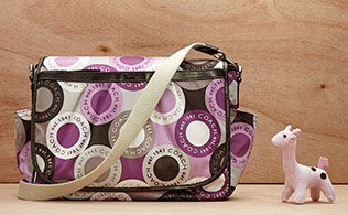 MyHabit: Up to 60% off Coach Baby Bags: The assortment from Coach features cool silhouettes with all the essential details, like multiple interior pockets, coordinating zip pouches and changing mats.