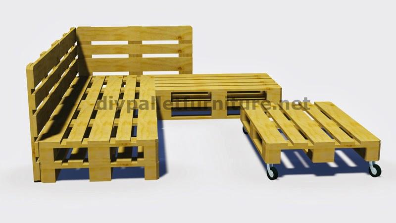 Mueblesdepaletsnet Instrucciones y planos en 3D de como hacer un