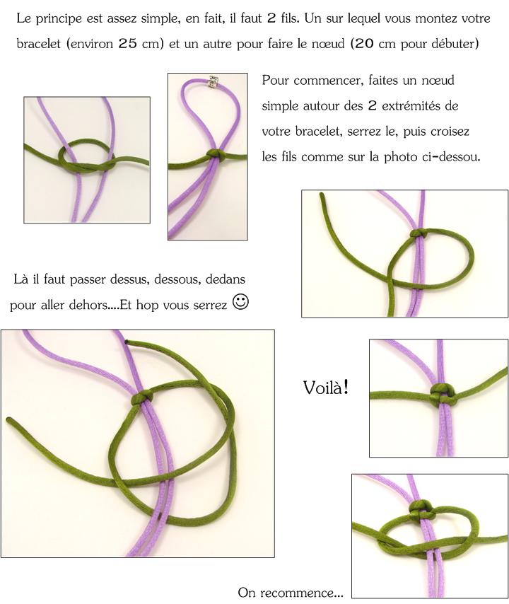 Mon bijou facile le noeud coulissant - Comment faire des boucles avec un lisseur ...