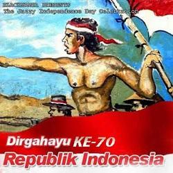 Dirgahayu ke 70 Republik Indonesia